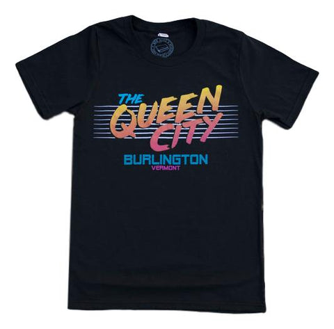 80s Queen City Burlington T-shirt