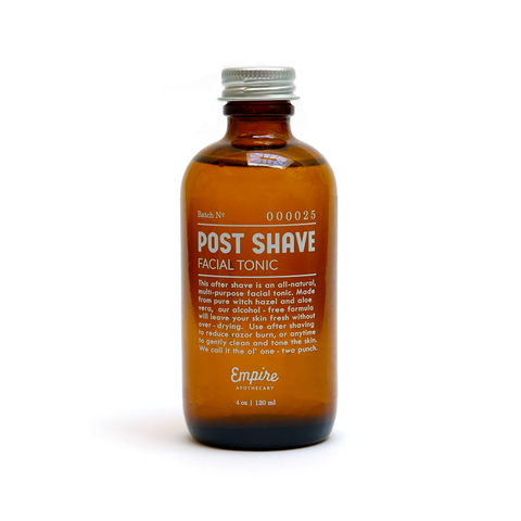 Post Shave Facial Tonic
