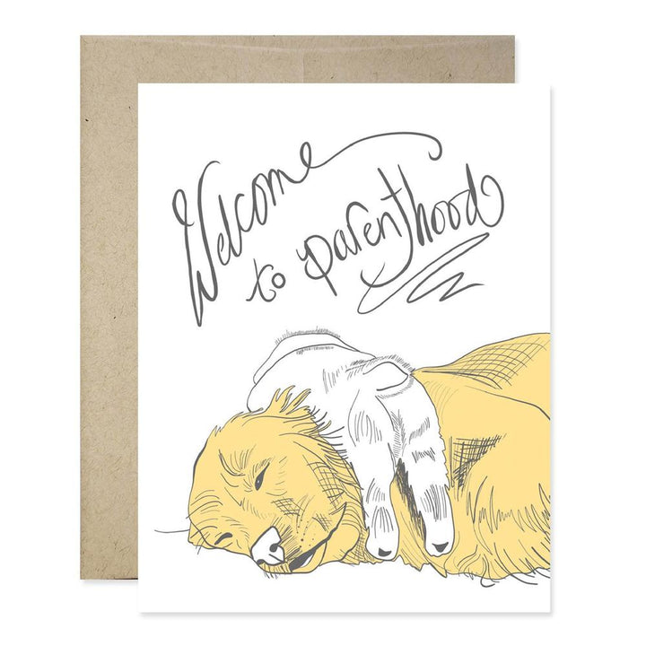 Welcome To Parenthood Dog Card - GJ4