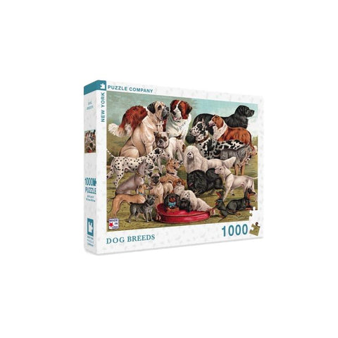 Dog Breeds Puzzle - 1000pc