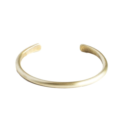Brushed Brass Champion Unisex Cuff