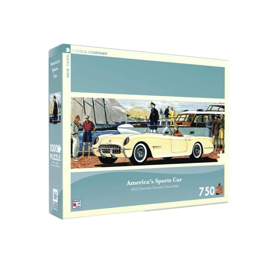 America's Sports Car 750 Piece Puzzle