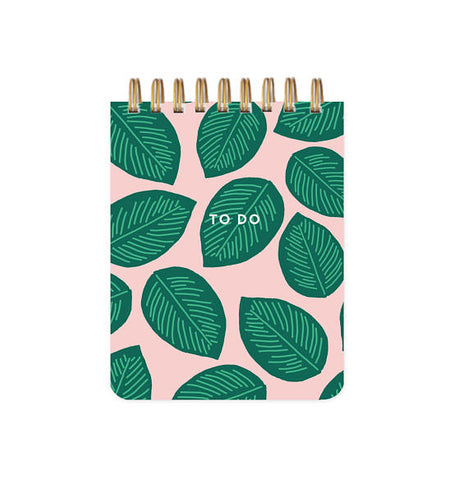 Palm Leaves To Do List Book