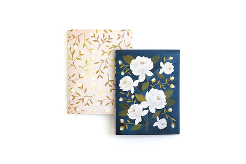 Floral Pocket Notebooks Set of Two