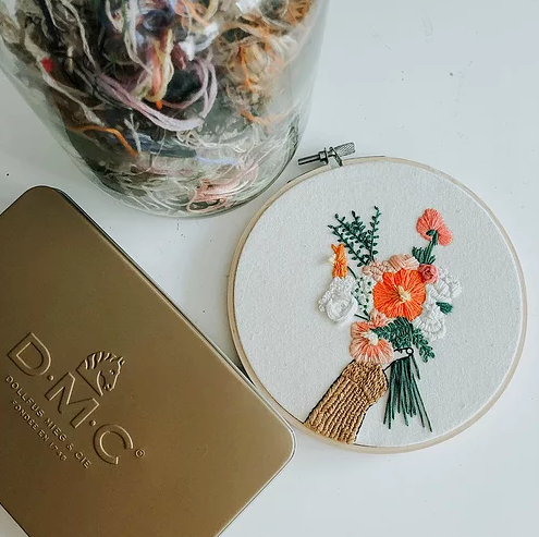 Be My Galentine Embroidery Kit