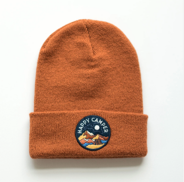 Infant/ Toddler Beanie - Happy Camper