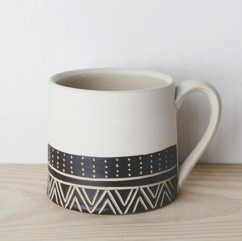 White Eternity Mug