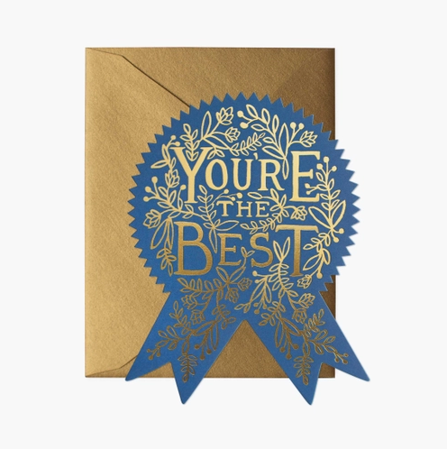 You're the best blue ribbon card - RP1