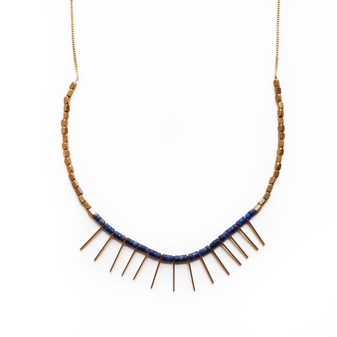 Nailah Lapis Necklace