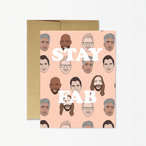 Stay Fab Card - PM