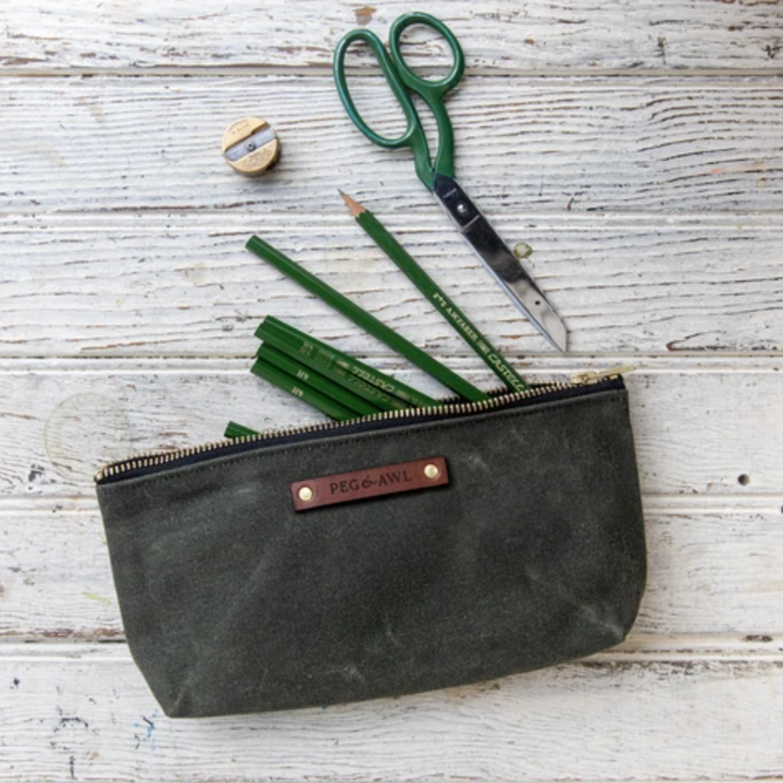 Waxed Canvas Keeper Pouch