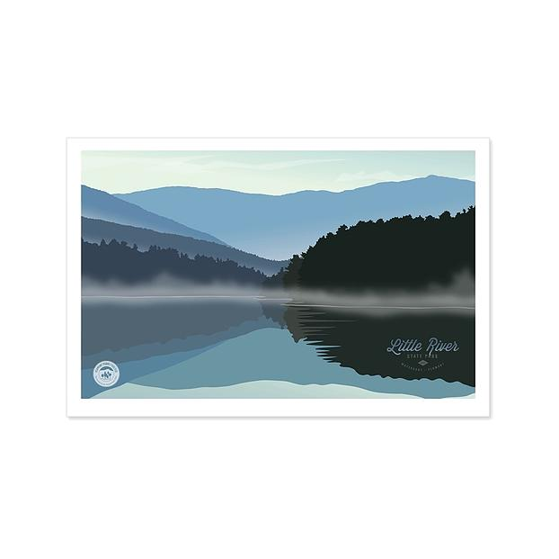 Little River State Park Print - 13x19