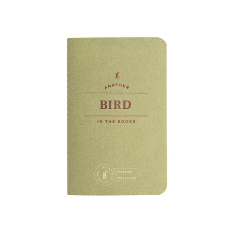 Bird Passport Book