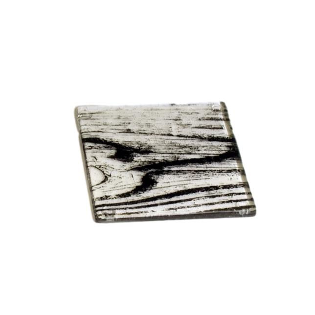 Woodgrain Knot Glass Coaster