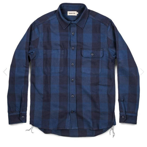 Moto Utility Shirt Buffalo Plaid