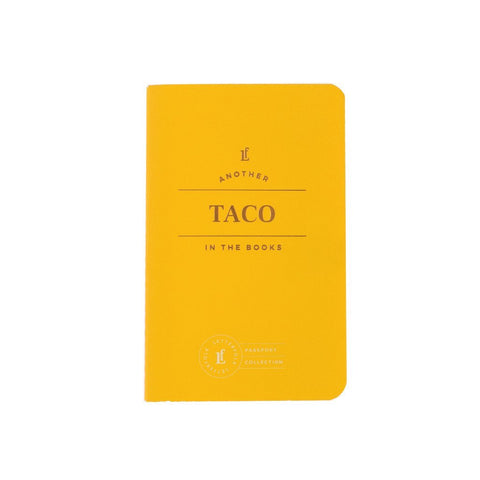 Taco Passport Book