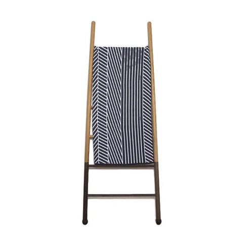 Double Stripe Eco-Throw - Aluminum 50x60