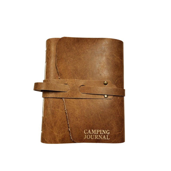 Handbound Leather Camping Journal
