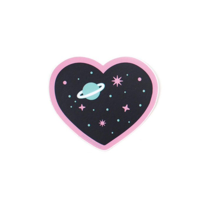 Heart Space Sticker