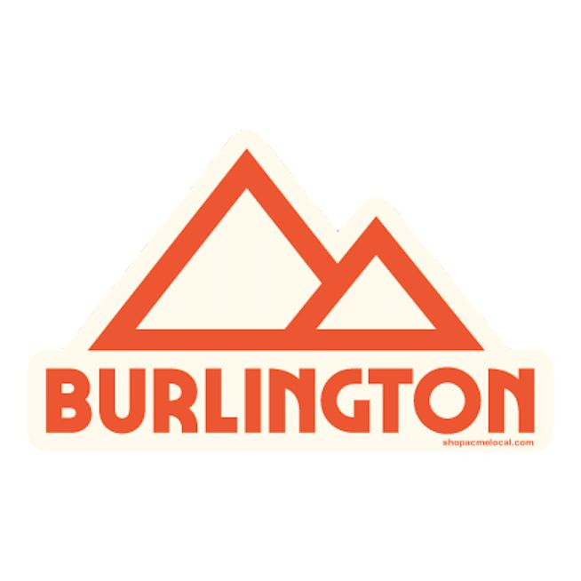 Burlington Mountain Sticker