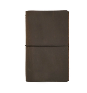 Leather Expedition Dot Grid Notebook