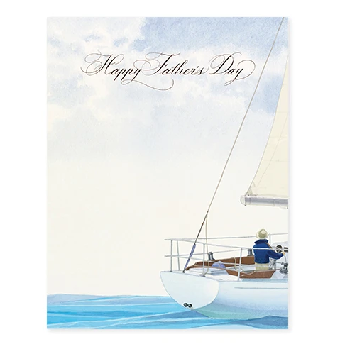 Smooth Sailing Father's Day Card - FD7