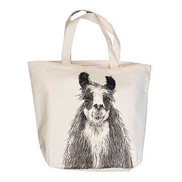 Oversized Canvas Animal Tote