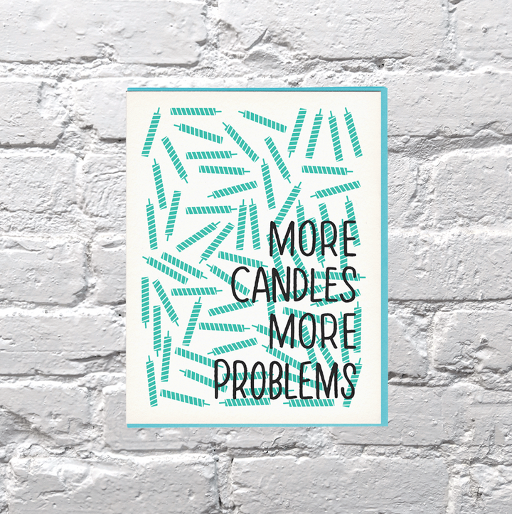 More Candles More Problems Birthday Card - BP6