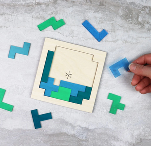 Earth Pentomino Tiling Puzzle
