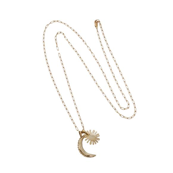 Martine Sun & Moon Necklace