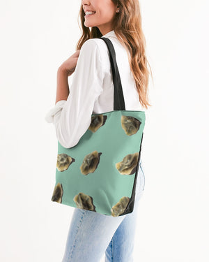 Dumplings Canvas Zip Tote