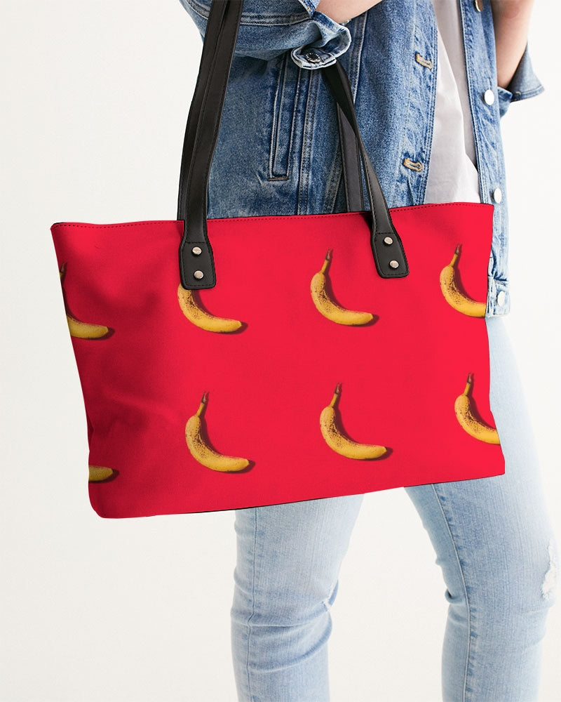 Tiled Bananas Stylish Tote