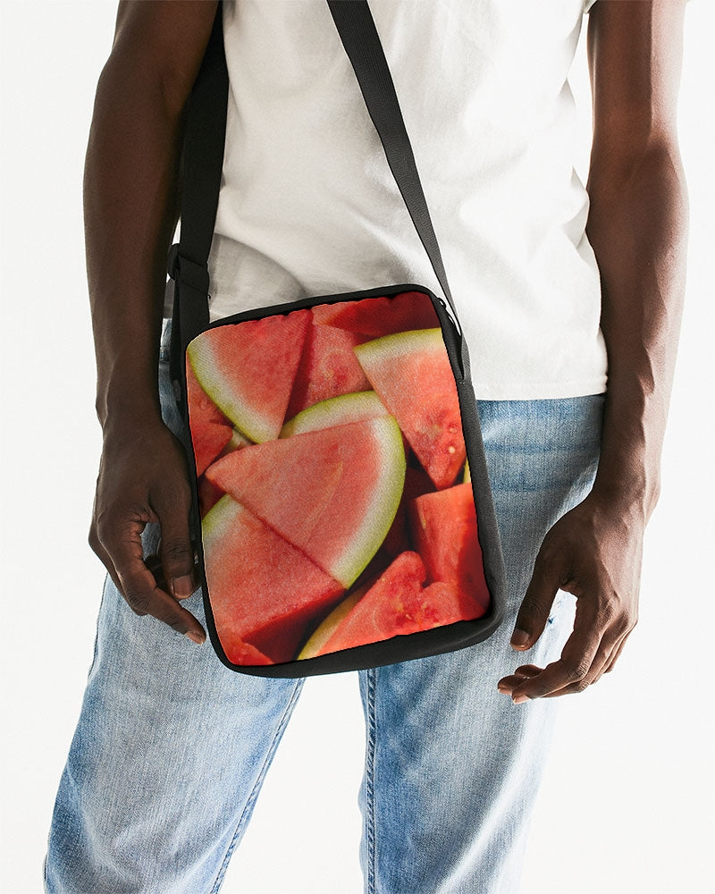 Watermelon Messenger Pouch