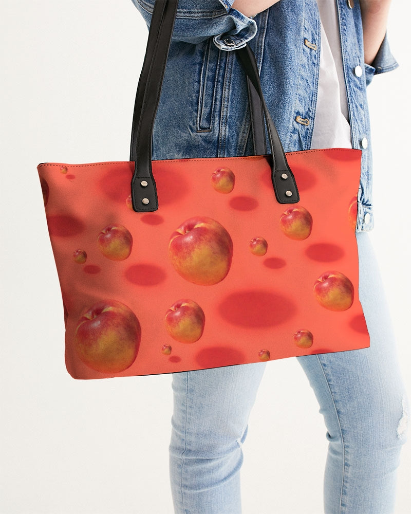 Floating Nectarines Stylish Tote