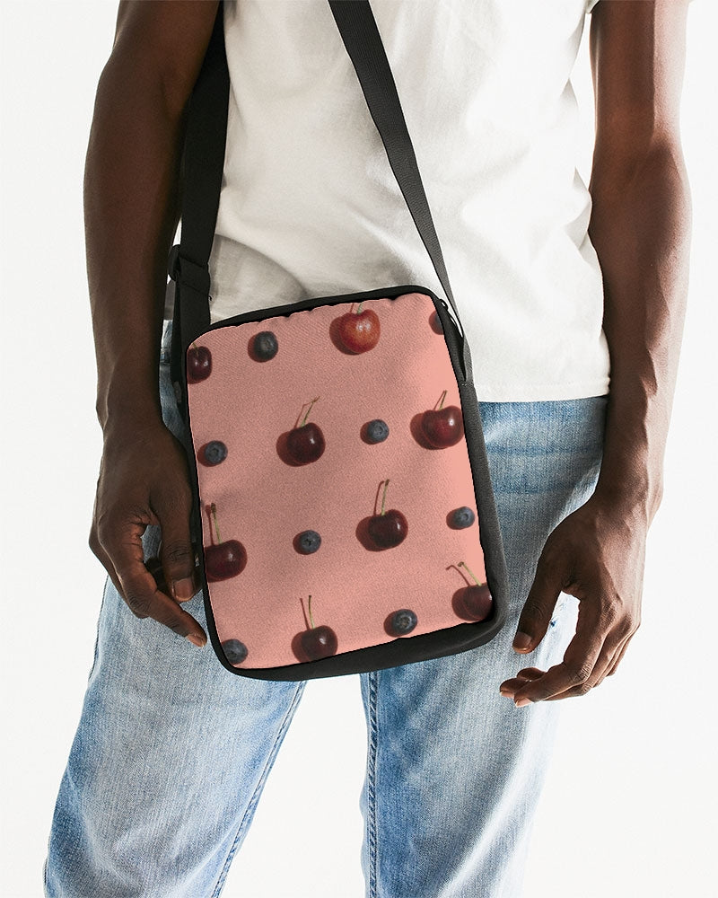 Summer Berries Messenger Pouch