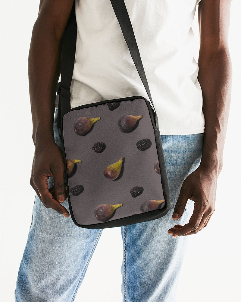 Figs and Berries Messenger Pouch