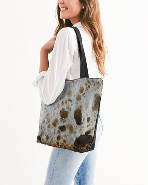 Sourdough Bread Canvas Zip Tote