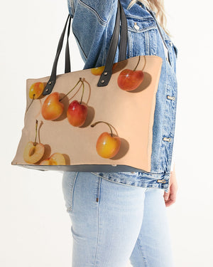 Sparkling Cherries Stylish Tote
