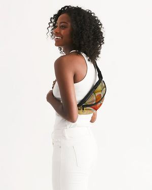 Mixed Citrus Crossbody Sling Bag