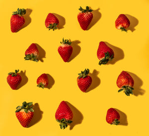Bright Strawberries Print