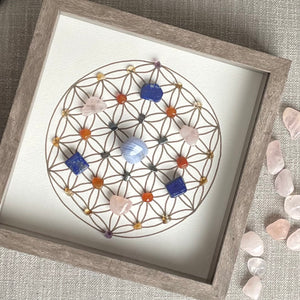 Fulfillment Framed Crystal Grid