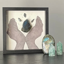 Load image into Gallery viewer, Alchemy & Magic Framed Crystal Art