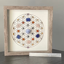 Load image into Gallery viewer, Fulfillment Framed Crystal Grid