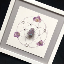 Load image into Gallery viewer, Custom Create Your Own Framed Crystal Grid