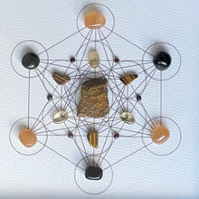 Load image into Gallery viewer, Transformation Framed Crystal Grid