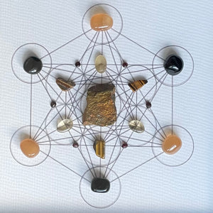 Transformation Framed Crystal Grid