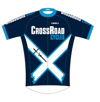 CRC 19 Mens Race Jersey QuickDry Waffle