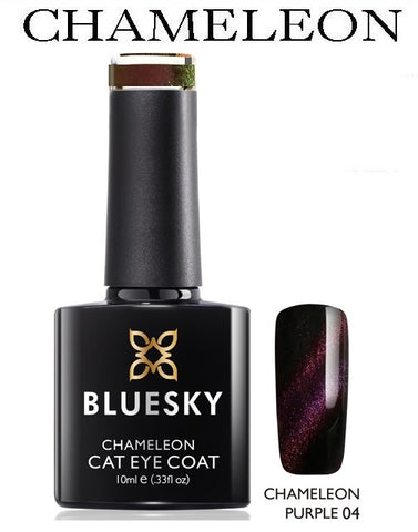 Chameleon cats eyes Bluesky Gel Polish Colour Change UV LED Nail Gel