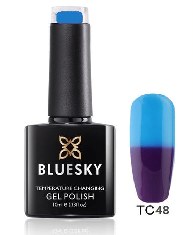 TC48 Bluesky Gel Polish Colour Change UV LED Nail Gel