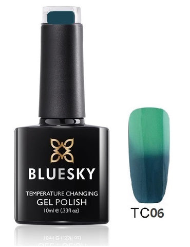 TC06 Bluesky Gel Polish Colour Change UV LED Nail Gel